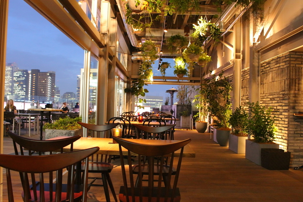 roof top bar & terrace Gトップ